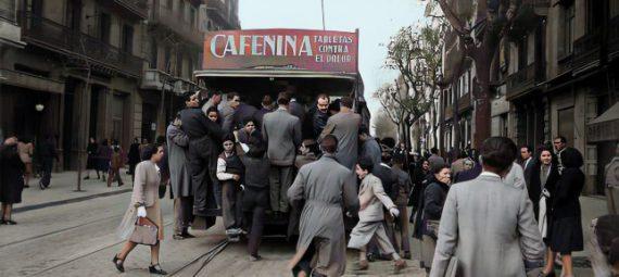 tranvias de Barcelona